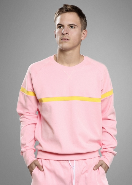 Pink - Yellow Sweat