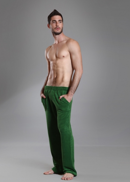 Cosy Trousers Green van €89,00